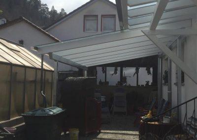 Stern Schweikert Metallbau Oberndorf, Vordach